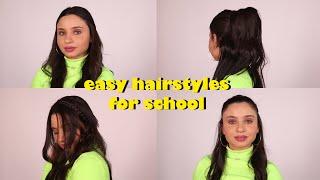 Easy Hairstyles For School With Perla | تسريحات شعر سهلة جداً للمدرسة مع بيرلا