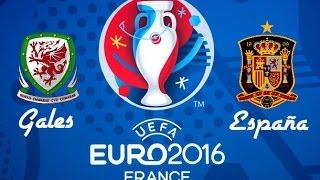 La futura campeona | y el equipo revelacion | Gales vs España | Comentando sobre la Eurocopa