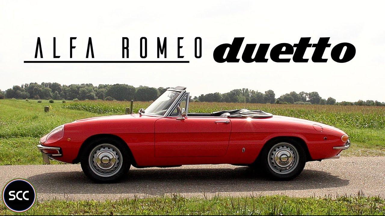 alfa romeo duetto 1750 spider veloce 1969 - test drive in top gear
