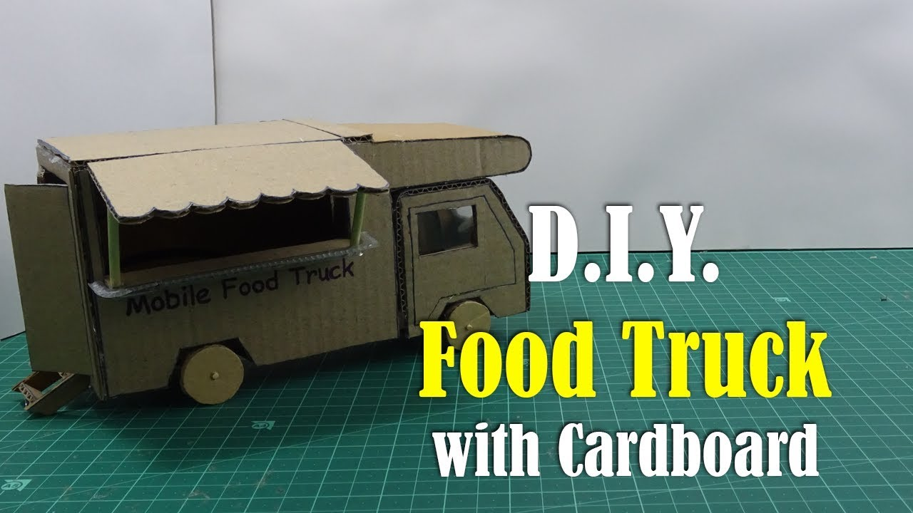 How To Make A Cardboard Food Truck