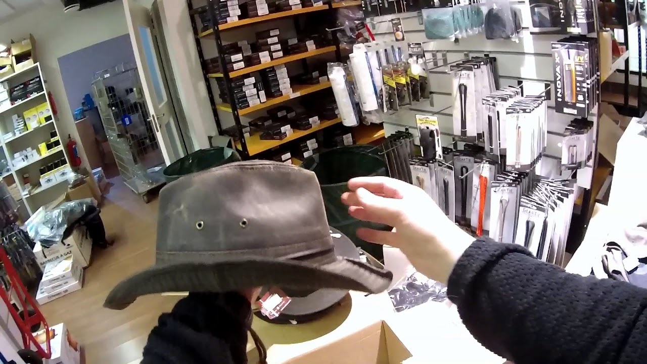 Dorfman Pacific Weathered Cotton Outback Hat - YouTube d89a1586f1a