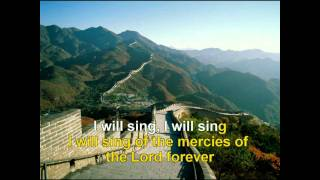 GOSPEL HYMNAL - I WILL SING OF THE MERCIES OF THE LORD G.avi