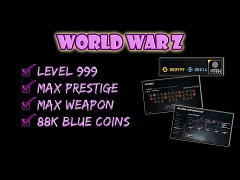 world war z blue coins