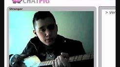 ChatPig.com Sänger singt Lagerfeuerlied