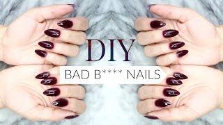 DIY BADDIE FALSE NAILS | Easy & Affordable!