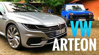 Тест Vw Arteon 280 Сил - Самый Крутой Volkswagen!) Подробный Обзор Новинки + 0-100 Км/Ч И Нива!)