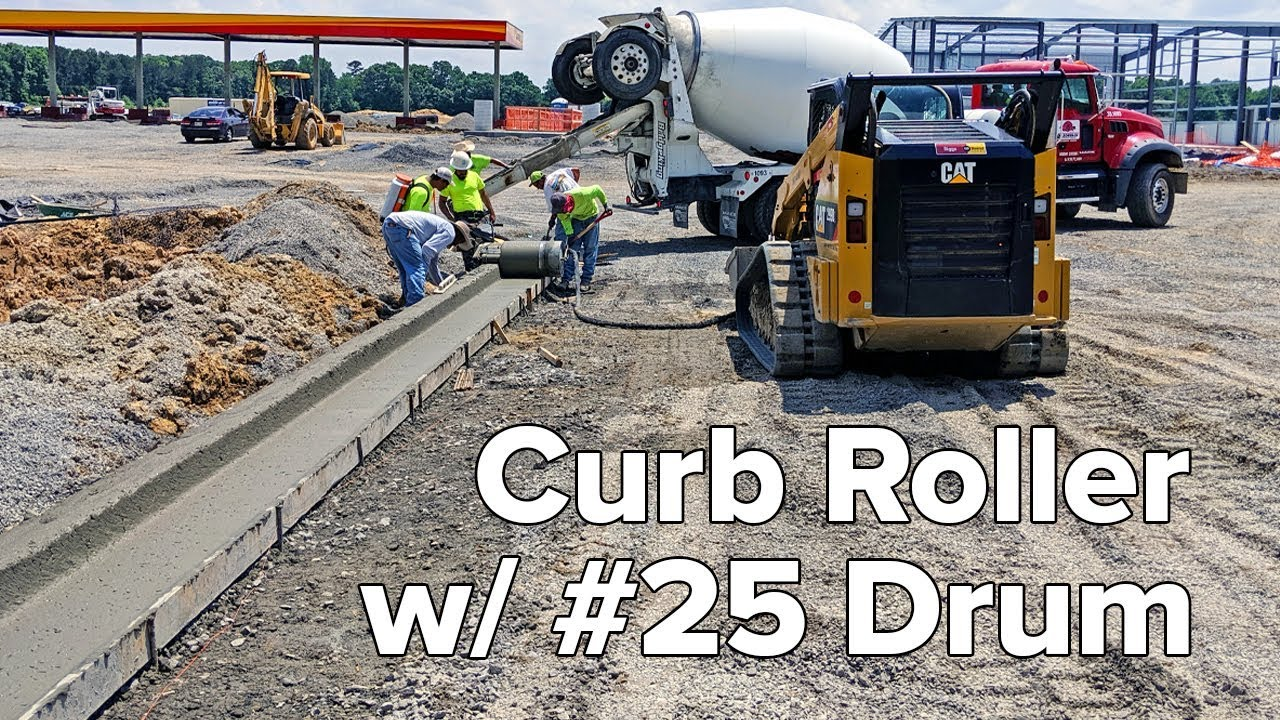 Curb Roller With #25 Drum