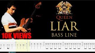 Queen - Liar (Bass Line Tabs) By John Deacon