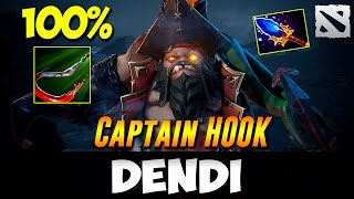 Dendi Pudge [Captain Hook] Dota 2