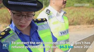 Battle against pollution of Qiandao Lake in China's Zhejiang