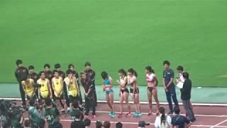 この日は日本選手権の最終日、終盤に差し掛かると全く違う客層が スタン...