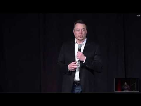 Elon Musk Tesla Inc Annual Shareholder Meeting June 2017