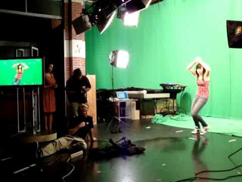 Tay dances for CBS