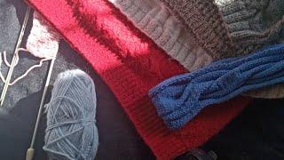 Вязание спицами. Урок 1