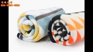 [지니몰TV] 모스텍 겨울 담요 판촉물 납품