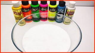 Pofuduk Slime Renklendirme, Colorfull Fluffy Slime, Jokerleme