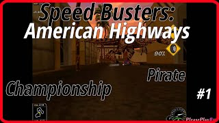 Speed Busters: American Highways (1998) #1 ✓ Championship ✓ Pirate + Intro