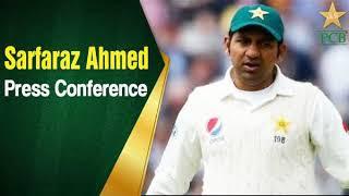 Pakistan vs Australia 2018 - 2nd Test - Sarfaraz Ahmed Post match press conference at Abu Dhabi