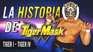 La HISTORIA de TIGER MASK | La Máscara de Tigre de la Lucha Libre