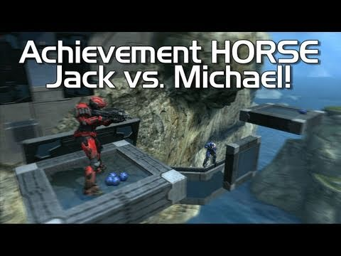 Achievement HORSE 14 Jack vs. Rage Quit's Michael!  Halo: Reach  Rooster Teeth