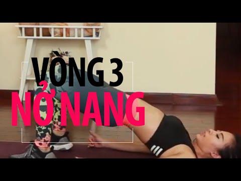 [HIIT SERIES] Ngày 8 – mông căng tròn săn chắc| Hana Giang Anh | Workout #49