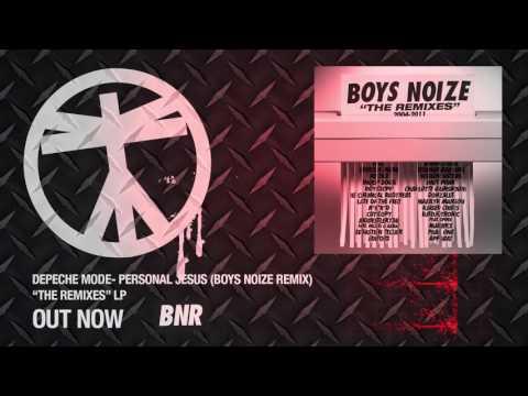 Depeche Mode- Personal Jesus (Boys Noize Remix) [Official Audio]