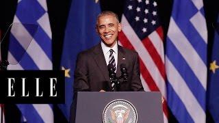 30 Times President Obama Made Us Smile | ELLE