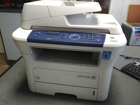 Xerox 3220 ошибка Замятие 1, принтер берет по несколько листов