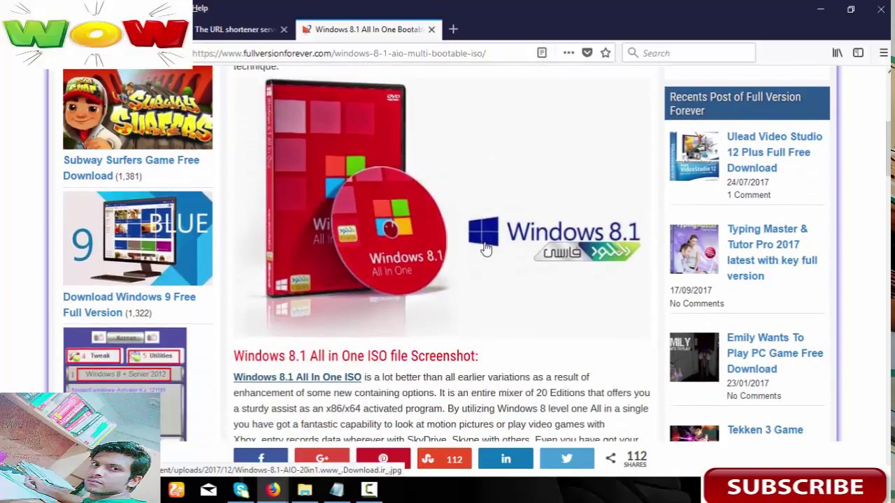 windows 8.1 pro 64 bit download preactivated