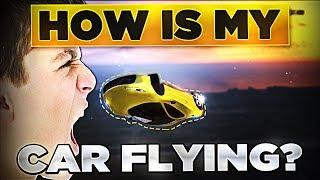 LAUNCHING KIDS CAR IN THE SKY TROLLING! (GTA 5 Mods)