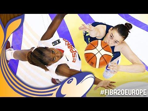Spain v Slovenia - Full Game - Final - FIBA U20 Women