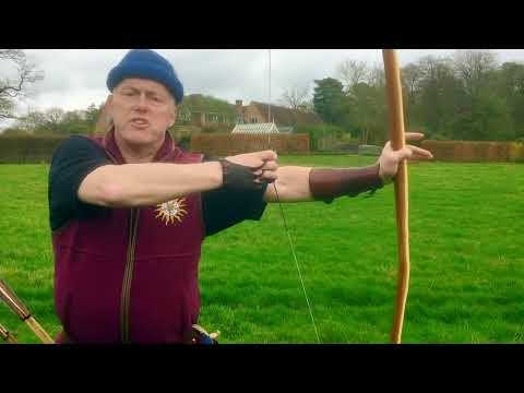 How To Shoot A Heavy English Longbow (warbow)