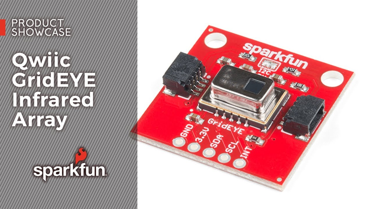 SparkFun Grid-EYE Infrared Array Breakout - AMG8833 (Qwiic