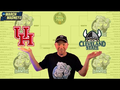 Houston vs Cleveland State 3/19/21 Free College Basketball Pick and Prediction NCAA Tournament