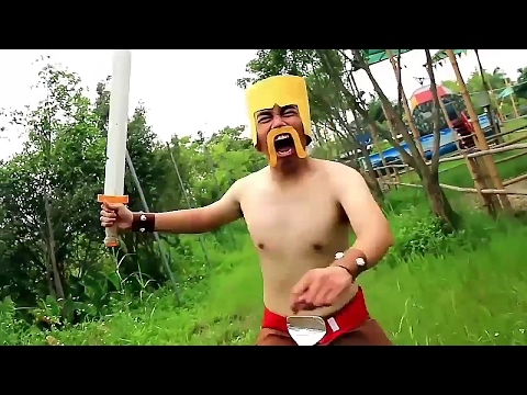 Real life Barbarians New Year Special | CLASH OF CLANS |