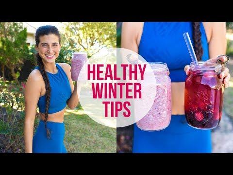Slim & Healthy Winter Tips   FullyRaw Vegan + Smoothie Recipe