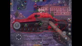 Краткий обзор T26E4 SuperPershing WoT Blitz в 3.9