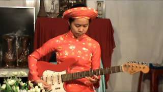 TUYẾT HOA độc tấu guitar: bản vọng kim lang (8). Email: venguontn1@gmail.com