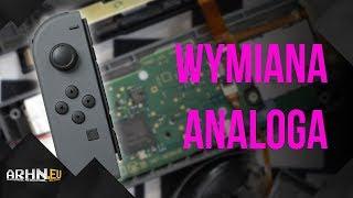 Wymiana gałki analogowej w Joy-Conie Nintendo Switch | Archon psuje