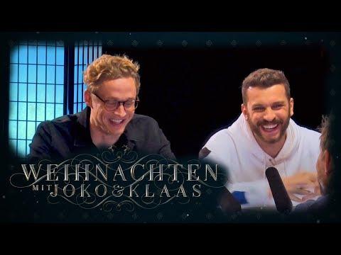 Aushalten: Nicht lachen - Matthias Schweighöfer & Edin Hasanović | Weihnachten mit Joko & Klaas