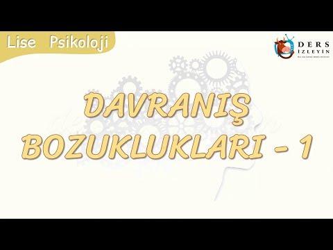 DAVRANIŞ BOZUKLUKLARI - 1