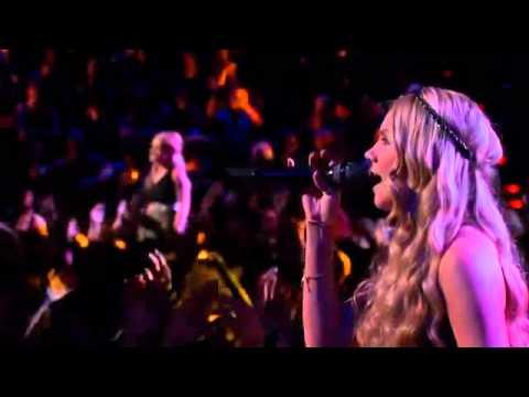 "Amber Carrington & Danielle Bradbery: The Bangles' ""Eternal Flame"""