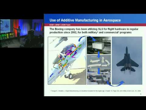 2011 Frontiers of Engineering: Additive Manufacturing in Aerospace