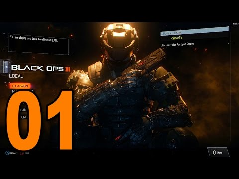 """Black Ops 3 - Mission 1 - """"Black Ops"""" (Call of Duty BO3 Singleplayer Campaign Gameplay)"""
