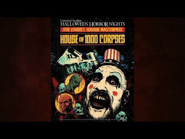 House of 1000 Corpses CONFIRMED For Halloween Horror Nights 2019!