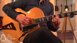 Andersen Emerald City Arch-top Guitar Played By Stuart Ryan (Part One)
