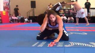 ADCC Qualifier 2011 Penny Thomas Vs. Tammy Greigo Part 01 Semi-finals Victory