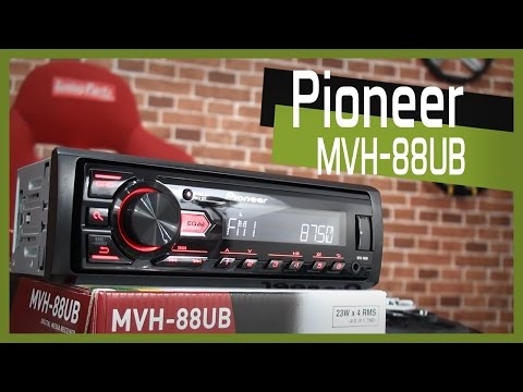 Todos os detalhes do Media Receiver Pioneer modelo MVH 88UB - Tuning Parts