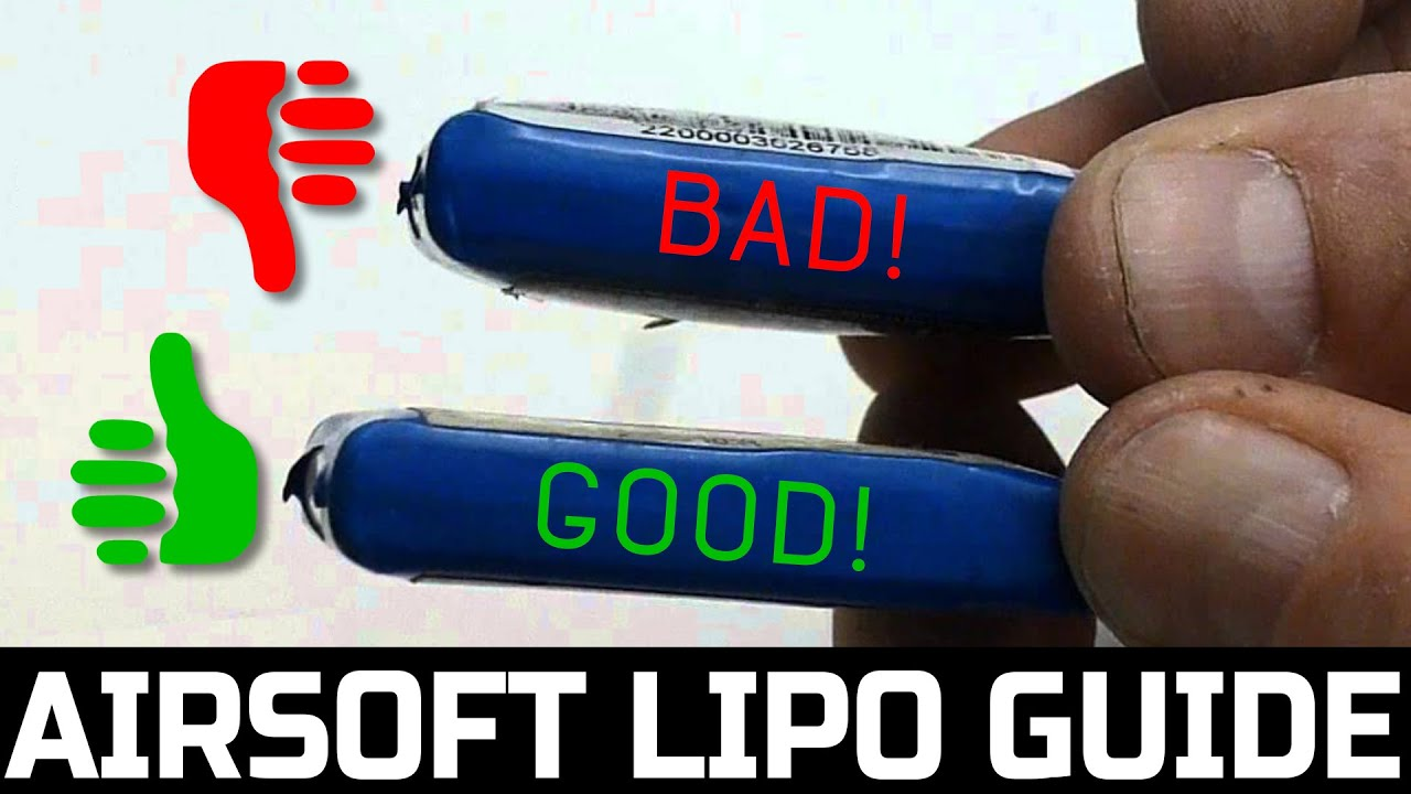 Best Airsoft LiPo Battery Guide | Airsoft Tips & Tricks |  Airsoftmegastore com
