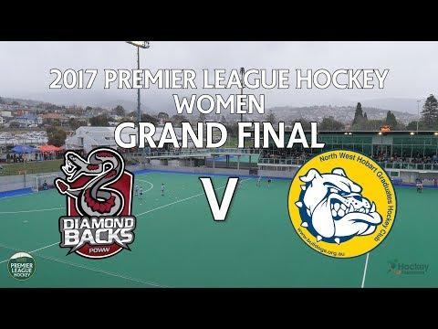 DiamondBacks v North West Grads   Women Grand Final   Premier League Hockey 2017